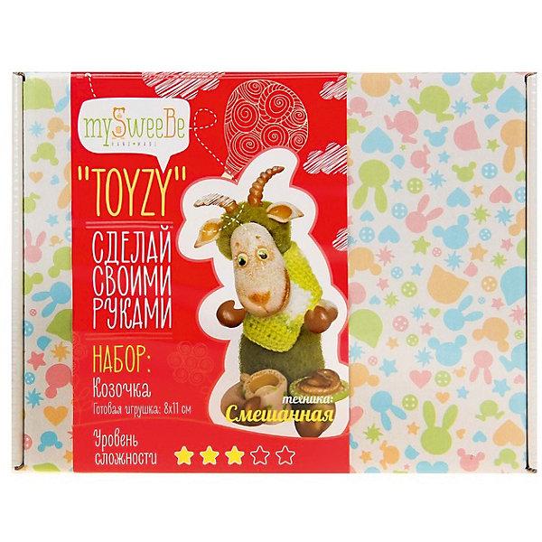 TOYZY Набор для вязания и валяния Toyzy Козочка toyzy набор для валяния toyzy лисичка