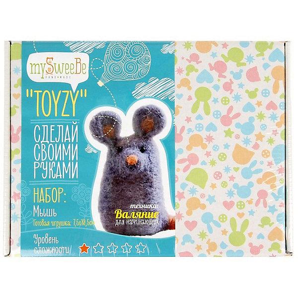 TOYZY Набор для валяния Toyzy Мышь toyzy набор для шитья игрушки за за зайцы