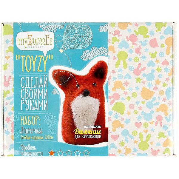 TOYZY Набор для валяния Toyzy Лисичка toyzy набор для валяния toyzy божья коровка