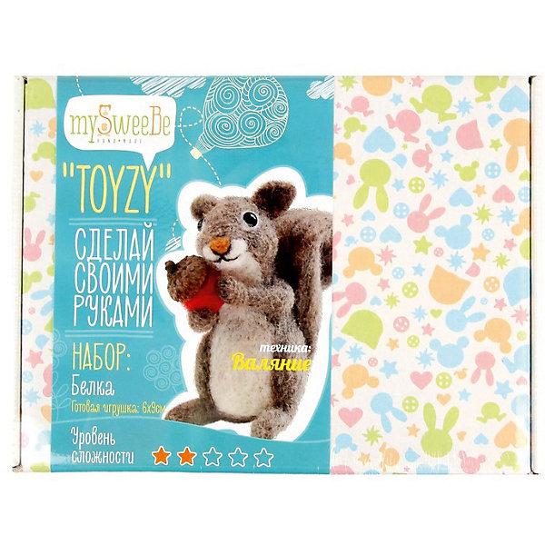 TOYZY Набор для валяния Toyzy Белочка toyzy набор для валяния toyzy божья коровка