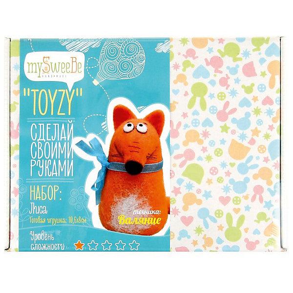 Набор для валяния Toyzy ЛисаНаборы для валяния<br>Характеристики: <br><br>• возраст: от 12 лет;<br>• в комплекте: шерсть, полимерная глина, губка, проволока, иглы, пластиковые глазки;<br>• материал: шерсть, пластик, текстиль, металл;<br>• цвет: мульти;<br>• уровень сложности: 1;<br>• размер готовой игрушки: 10,6х8 см;<br>• размер упаковки: 24х5х18 см;<br>• вес упаковки: 170 гр;<br>• тип упаковки: картонная коробка;<br>• страна бренда: Россия.<br><br>Набор для валяния Toyzy (Тойзи) «Лисичка» позволяет любому освоить технику сухого валяния с нуля, и при этом самостоятельно сделать игрушку с уникальным авторским дизайном по авторской методике, проявить свои навыки и умения в разных техниках — валяние, лепка полимерной глиной.<br><br>В наборе есть все необходимое для создания игрушки.<br>Все инструменты и материалы, входящие в набор, являются безопасными, натуральными и высококачественными. <br><br>Набор для валяния Toyzy (Тойзи) «Лисичка» можно купить в нашем интернет-магазине.<br>Ширина мм: 180; Глубина мм: 240; Высота мм: 50; Вес г: 200; Возраст от месяцев: 84; Возраст до месяцев: 192; Пол: Унисекс; Возраст: Детский; SKU: 4603778;