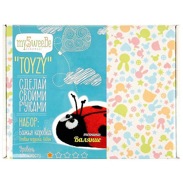 TOYZY Набор для валяния Toyzy Божья коровка toyzy набор для валяния toyzy божья коровка