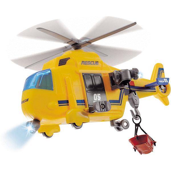 Dickie Toys Спасательный вертолет Dickie Toys Action Series со светом и звуком, 18 см игрушка dickie toys спасательный вертолет 3302003