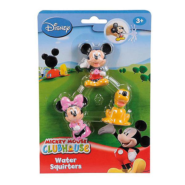 Simba Брызгалки Микки Маус, 3 фигурки, Simba фигурки disney traditions фигурка микки и минни маус с колокольчиками с рождеством
