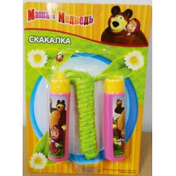 - Скакалка детская, Маша и Медведь скакалка скоростная proxima crossfit jr 7001 r red