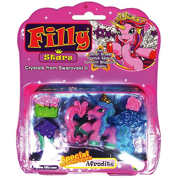Dracco Набор Filly Звезды Afrodite, с аксессуарами, Dracco dracco игровой набор лошадки филли filly звезды волшебная семья afrodite