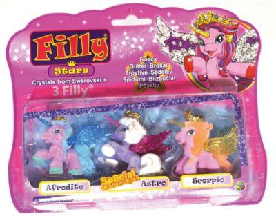 Набор Filly Звезды  Друзья: Afrodite, Astro и Scorpio , Dracco, артикул:4618251 - Категории