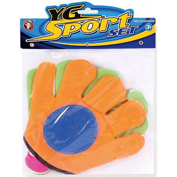 Игра на открытом воздухе Мячеловка, с перчатками-липучками 24 см, YG SportИгровые наборы<br>Игра Мячеловка, YG Sport - прекрасный способ весело и активно провести время на природе. В комплект входят мяч и специальная перчатка -липучка, обеспечивающая более удобное захватывание мяча. На поверхности перчатки имаются специальные крючочки-липучки, которые крепко цепляются за мяч и не дают ему упасть. Игрушка развивает координацию и моторику движений, меткость, ловкость и внимательность<br> <br>Дополнительная информация:<br><br>- В комплекте: мяч, перчатка-липучка - 2 шт.<br>- Материал: резина\латекс. <br>- Размер перчатки: 24 см.<br>- Размер упаковки: 21,7 х 4,5 х 29 см.<br>- Вес: 71 гр.<br> <br>Игру на открытом воздухе Мячеловка, с перчатками-липучками, YG Sport, можно купить в нашем интернет-магазине.<br>Ширина мм: 217; Глубина мм: 45; Высота мм: 290; Вес г: 71; Возраст от месяцев: 36; Возраст до месяцев: 72; Пол: Унисекс; Возраст: Детский; SKU: 4622235;