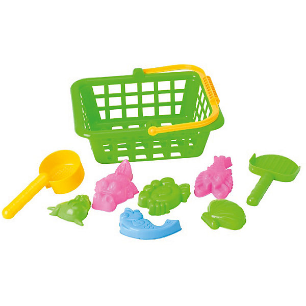 Купить Игровой набор Жители моря , 8 предм., в корзинке, Hualian Toys, Китай, Унисекс