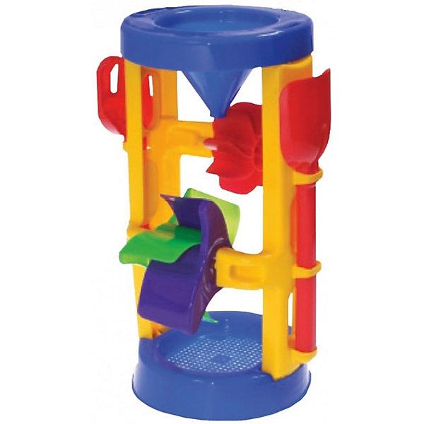 Мельница, 19 см, ALTACTOИграем в песочнице<br>Мельница, Altacto, прекрасно подойдет для игр в песочнице и на пляже. Также ее можно использовать во время купания в ванной. Оригинальная конструкция выполнена в яркой цветовой гамме и включает в себя воронку, два вращающихся колеса и широкое основание-сито. Заполняя воронку водой, малыш с интересом будет наблюдать как водяная струя приводит в движение лопасти колес мельницы. Игрушка выполнена из экологически чистого и высококачественного материала, не содержащего в составе вредных красителей. Способствует развитию зрительного восприятия и тактильных ощущений, тренирует мелкую моторику. <br><br>Дополнительная информация:        <br><br>- Материал: пластик. <br>- Размер мельницы: 19 х 19 х 37 см.<br>- Вес: 0,421 кг.<br><br>Мельницу, 19 см., Altacto, можно купить в нашем интернет-магазине.<br>Ширина мм: 190; Глубина мм: 190; Высота мм: 370; Вес г: 421; Возраст от месяцев: 12; Возраст до месяцев: 36; Пол: Унисекс; Возраст: Детский; SKU: 4622258;