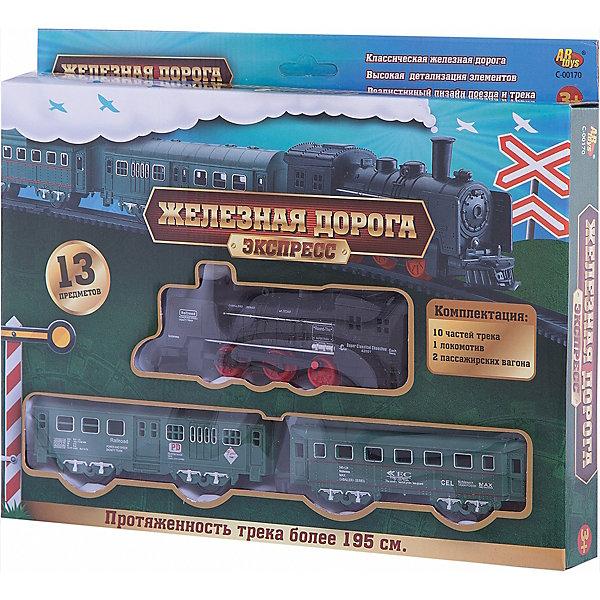 Фотография товара железная дорога, 13 предм., ABtoys (4622655)