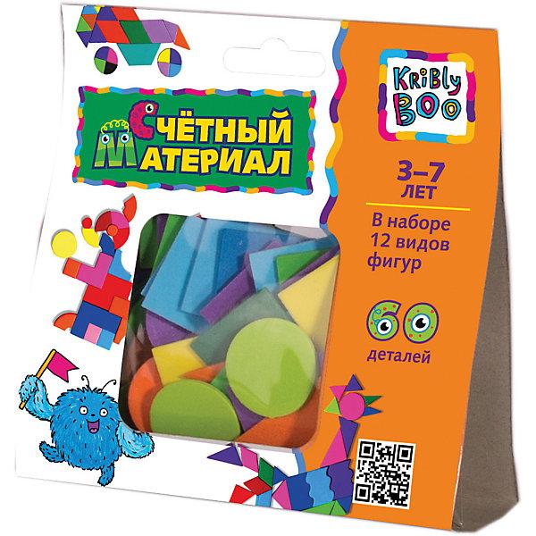 Счётныйматериал,60деталейМатематика<br>Счётный материал, 60 деталей - это материал для математических занятий с малышом.<br>Игра со счетным материалом — необходимое занятие для развития математических, логических навыков и образного мышления. С помощью 12 видов разнообразных фигурок вы можете наглядно показать ребенку, что такое много и мало, больше и меньше, познакомить его с цветами, формами, научить считать. Счетный материал удобно брать в руки, детали приятны на ощупь.<br><br>Дополнительная информация:<br><br>- В наборе: 12 видов фигур<br>- Количество деталей: 60<br>- Материал: вспененный полимерный материал<br>- Упаковка: блистер<br>- Размер упаковки:13х13х4,5 см.<br>- Вес: 167 гр.<br><br>Счётный материал, 60 деталей можно купить в нашем интернет-магазине.<br>Ширина мм: 130; Глубина мм: 13; Высота мм: 45; Вес г: 167; Возраст от месяцев: 36; Возраст до месяцев: 84; Пол: Унисекс; Возраст: Детский; SKU: 4623200;