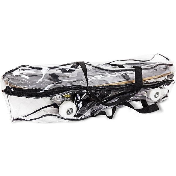 Набор для скейтбординга Крутой вираж, ZilmerЗащитные аксессуары<br>Этот набор приведет в восторг всех юных экстремалов! В нем есть все, чтобы научиться кататься на скейте. Стильный скейтборд с  рельефной поверхностью, деревянной декой, подвеской из алюминия и полиуретановыми колесами обеспечит хорошее сцепление с поверхностью, быстрый разгон и торможение. Полный комплект защиты, состоящий из прочных наколенников, налокотников, перчаток на запястья и шлема гарантирует комфорт и безопасность. Шлем с отверстиями для вентиляции застегивается на ремешки. Катание на скейтборде стимулирует ребенка к физической активности на свежем отдыхе, помогает развить различные группы мышц и укрепить иммунитет. <br><br>Дополнительная информация:<br><br>- Материал: полиуретан, алюминий, дерево, пластик.<br>- Комплектация: скейтборд, шлем, комплект защиты.<br>- Размер упаковки: 60х30х25 см.<br>- Размер скейтборда: 60х15 см. <br>- Размер колес: 50х30 мм.<br>- Шлем застегивается на ремешок.<br>- Антискользящая платформа. <br>- Цвет в ассортименте.<br>ВНИМАНИЕ! Данный артикул представлен в разных цветовых вариантах. К сожалению, заранее выбрать определенный вариант невозможно. При заказе нескольких наборов возможно получение одинаковых.<br><br>Набор для скейтбординга Крутой вираж, Zilmer, в ассортименте, можно купить в нашем магазине.<br>Ширина мм: 600; Глубина мм: 300; Высота мм: 250; Вес г: 2383; Возраст от месяцев: 36; Возраст до месяцев: 72; Пол: Унисекс; Возраст: Детский; SKU: 4635550;