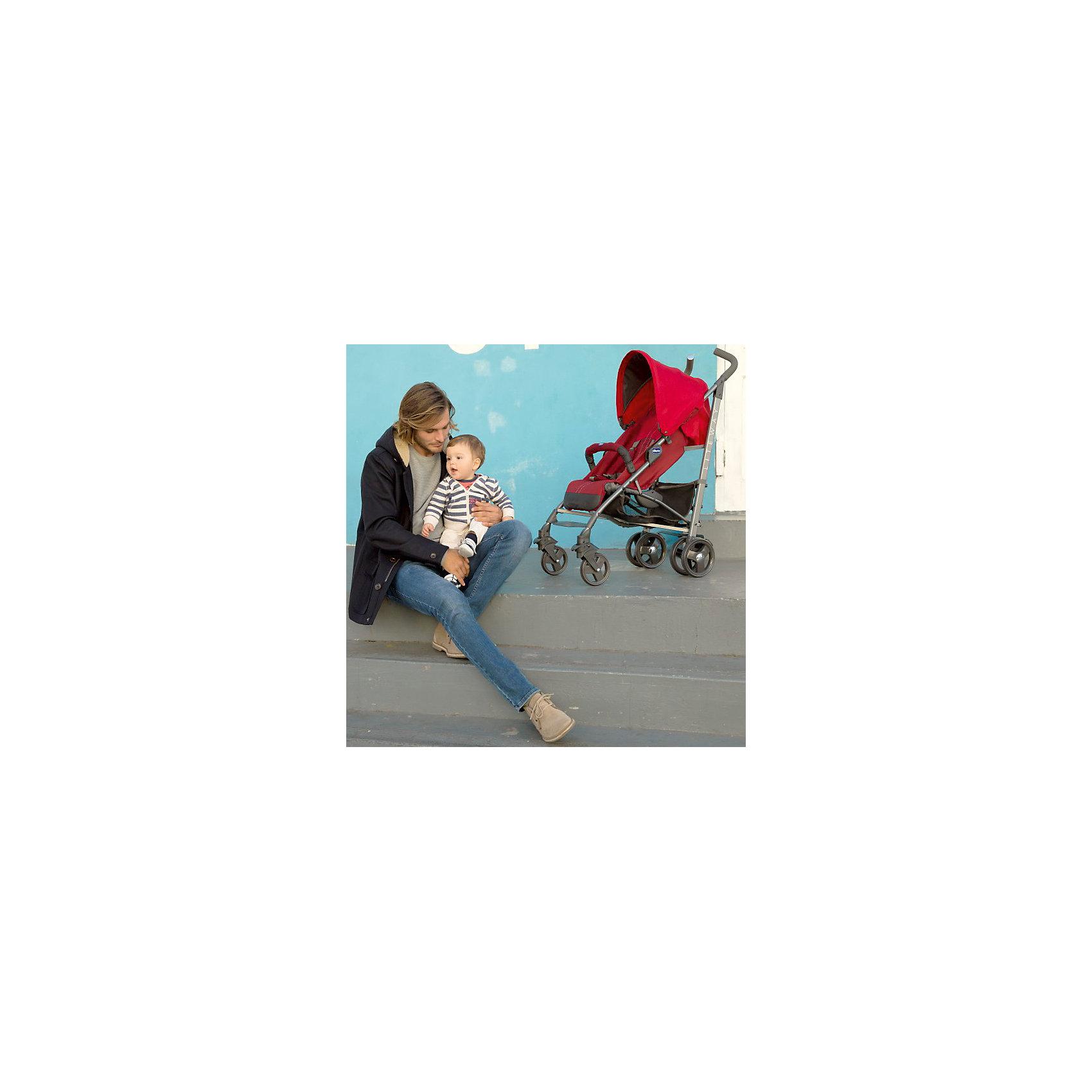 Коляска-трость Chicco Lite Way Top 2, голубой