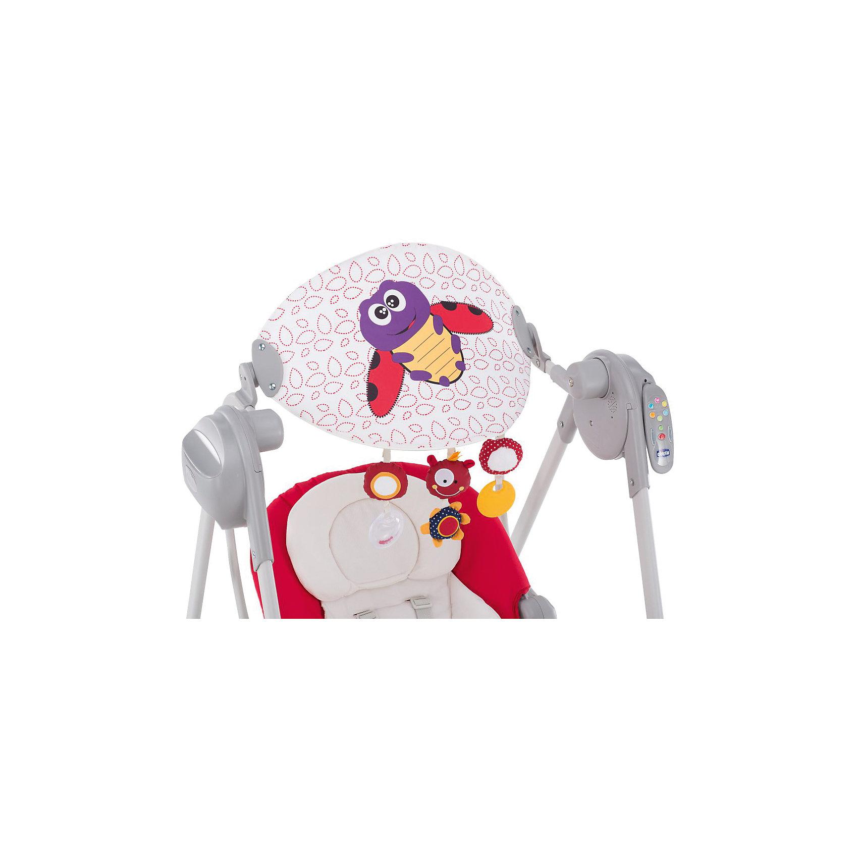 Электрокачели Polly Swing Up, Chicco, красный (CHICCO)