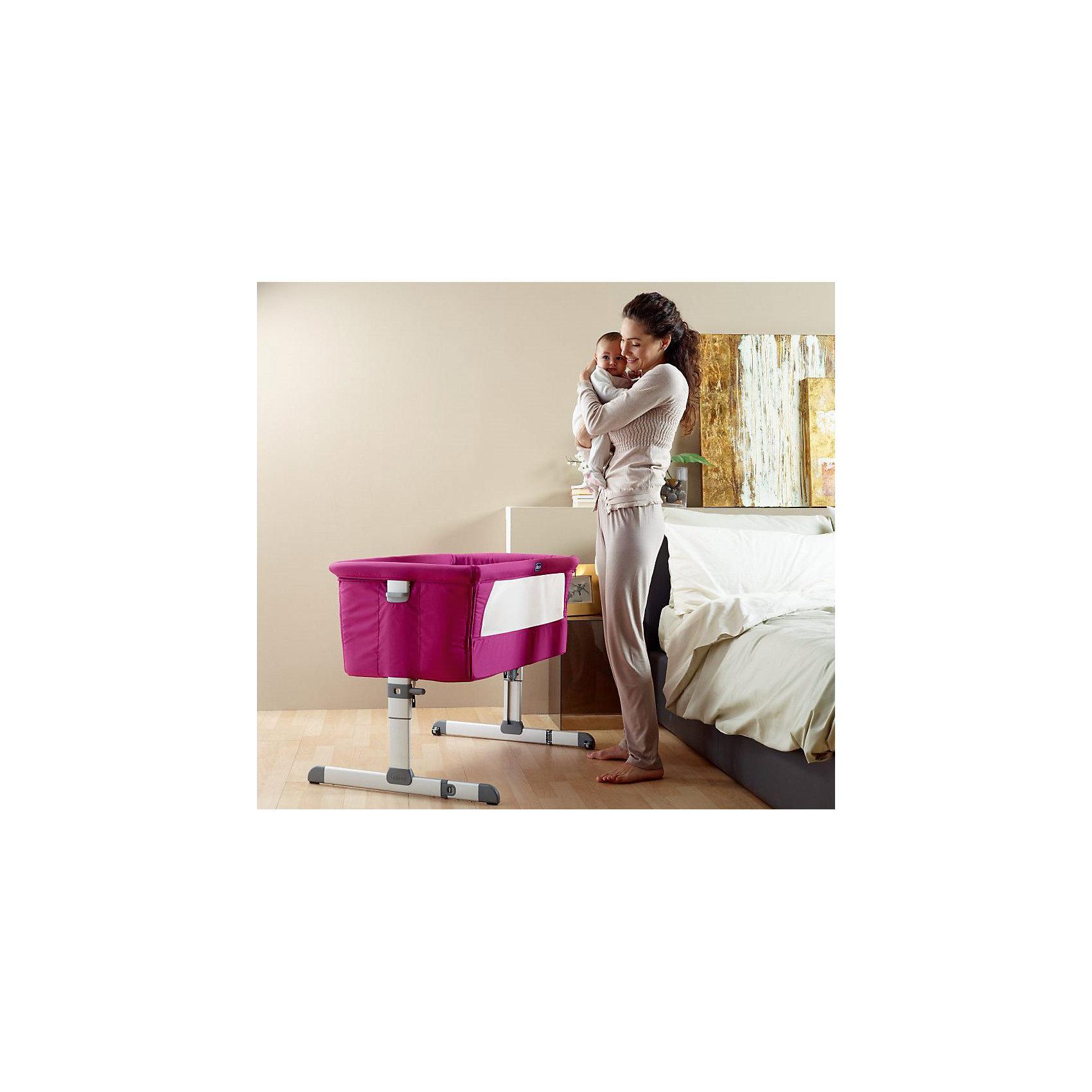 Функциональная кроватка Next2me Silver, Chicco (CHICCO)