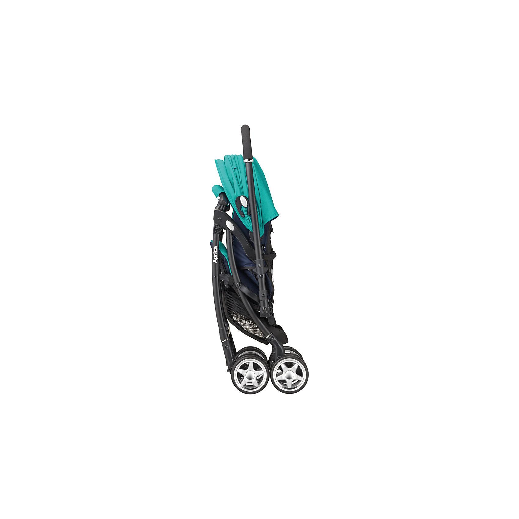 Прогулочная коляска Air Ria Lux, Aprica, зеленый/синий