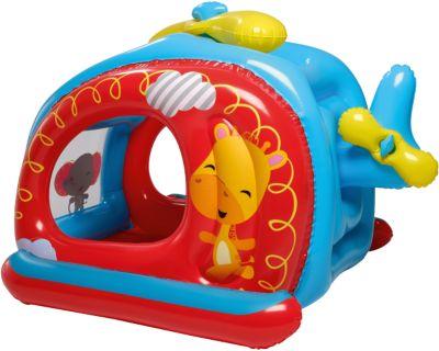 Игровой центр Вертолёт с 25 шариками, Fisher Price, Bestway, артикул:4639776 - Детская площадка