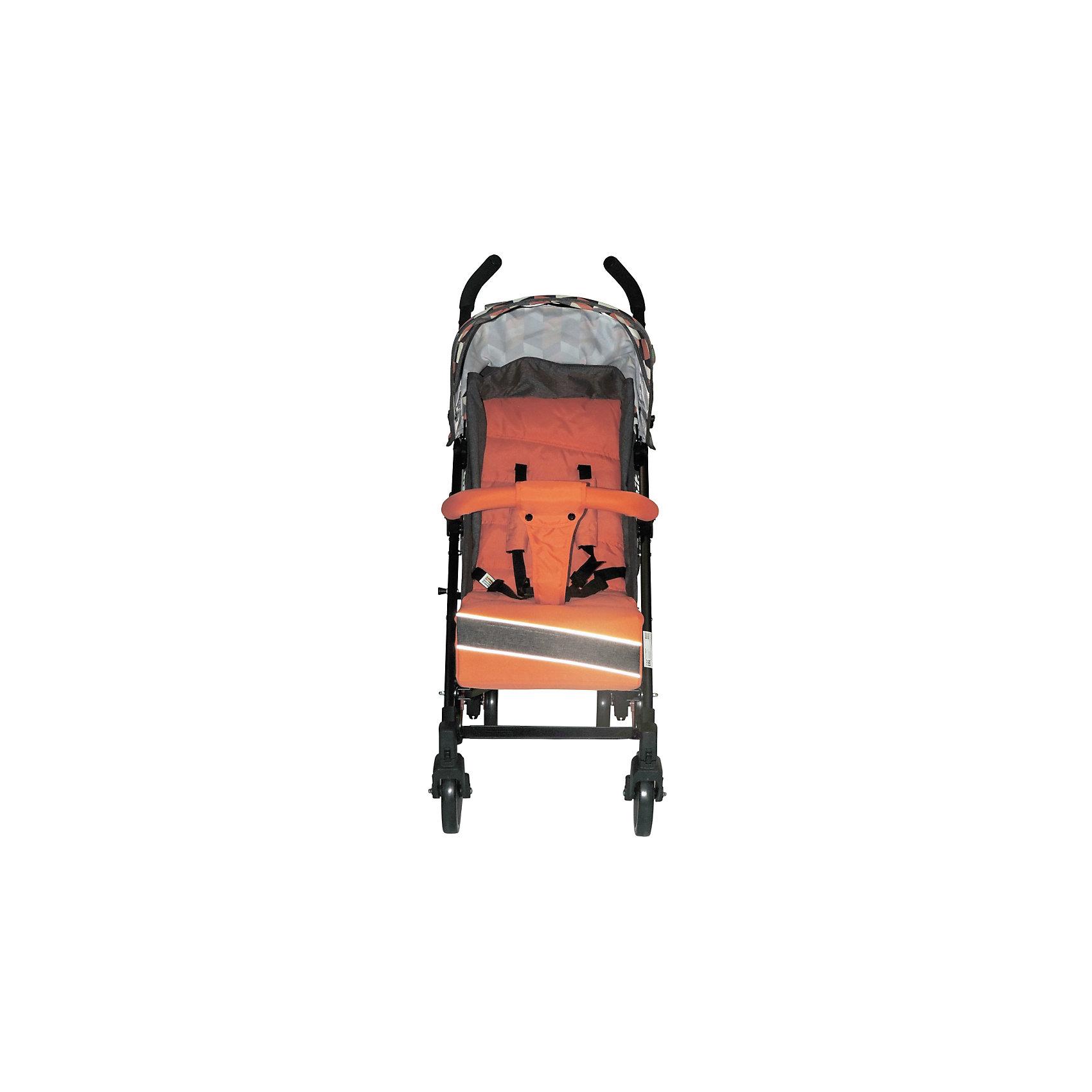 Коляска-трость RAINBOW, BabyHit, оранжевый (Baby Hit)