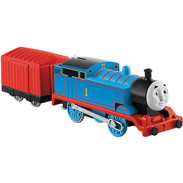 Паровозик Томас и его друзья «Базовые паровозики» Томас с вагономПопулярные игрушки<br>Характеристики: <br><br>• от 3 лет;<br>• комплектация: прицеп, паровозик;<br>• герой: Томас с вагоном;<br>• наличие батареек: не входят в комплект;<br>• тип батареек: 2хААА;<br>• упаковка: блистер на картонной подложке;<br>• материал: пластик, металл;<br>• вес: 283 гр.;<br>• размер паровозика: 25,3х14х4,8 см;<br>• размер упаковки: 25,5?15?5 см;<br>• страна бренда: США.<br><br>Паровозик Томас и его друзья «Базовые паровозики» Томас с вагоном, отличается неповторимым внешним видом и оригинальным дизайном. Игрушечный паровозик отлично детализирован и изготовлен из качественного пластика.<br><br>Паровозик оснащен магнитной сцепкой, которая позволяет присоединять к локомотиву вагончики и собирать свой собственный состав. Паровозики моторизированы и могут ездить самостоятельно.<br><br>Паровозик Томас и его друзья «Базовые паровозики» Томас с вагоном можно приобрести в нашем интернет-магазине.<br>Ширина мм: 150; Глубина мм: 255; Высота мм: 50; Вес г: 283; Возраст от месяцев: 36; Возраст до месяцев: 60; Пол: Мужской; Возраст: Детский; SKU: 4641305;