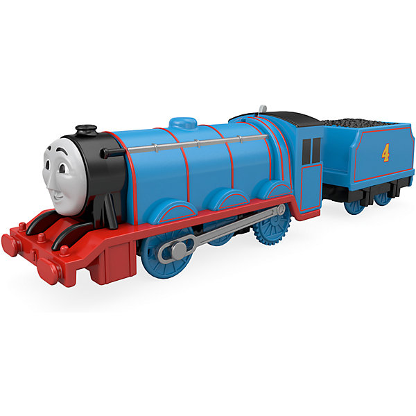 Паровозик Томас и его друзья «Базовые паровозики» Гордон с вагономЖелезные дороги<br>Характеристики: <br><br>• возраст: от 3 лет;<br>• комплектация: прицеп, паровозик;<br>• герой: Гордон с вагоном;<br>• наличие батареек: не входят в комплект;<br>• тип батареек: 2хААА;<br>• упаковка: блистер на картонной подложке;<br>• материал: пластик, металл;<br>• вес: 283 гр.;<br>• размер паровозика: 25,3х14х4,8 см;<br>• размер упаковки: 25,5?15?5 см;<br>• страна бренда: США.<br><br>Паровозик Томас и его друзья «Базовые паровозики» Гордон с вагоном, отличается неповторимым внешним видом и оригинальным дизайном. Игрушечный паровозик отлично детализирован и изготовлен из качественного пластика.<br><br>У паровозика вращаются колеса. С помощью магнитной сцепки можно присоединять к локомотиву вагончики и ребенок может собирать собственные составы. Паровозик моторизирован и может ездить самостоятельно.<br><br>Паровозик Томас и его друзья «Базовые паровозики», Гордон с вагоном можно приобрести в нашем интернет-магазине.<br>Ширина мм: 150; Глубина мм: 255; Высота мм: 50; Вес г: 283; Возраст от месяцев: 36; Возраст до месяцев: 60; Пол: Мужской; Возраст: Детский; SKU: 4641308;