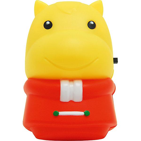 Ночник Лошадь Зоо LED 0.5Вт, Ultra Light, красно-желтыйДетские предметы интерьера<br>Желтый ночник, 40 Вт – создаст в детской комнате атмосферу сказочности, дружелюбия и безопасности.<br>Светильник-ночник в форме забавной лошадки в течение всей ночи будет световым ориентиром и успокаивающим фактором для детей. Светильник полностью безопасен для людей и домашних животных, не нагревается. Корпус светильника-ночника выполнен из безопасного термоустойчивого пластика и снабжен выключателем. Предусмотрено прямое подключение к любым видам розеток. Срок службы 6000 часов. Запрещено использовать в качестве игрушки.<br><br>Дополнительная информация:<br><br>- Непрерывная работа в течение ночи<br>- Тип лампы: LED 0,5Вт<br>- Напряжение: 220В<br>- Материал: высококачественный пластик<br>- Размер: 6х9х8,5 см.<br>- Размер упаковки: 14 х 8,5 х 8,5 см.<br>- Вес: 80 гр.<br><br>Желтый ночник, 40 Вт можно купить в нашем интернет-магазине.<br>Ширина мм: 140; Глубина мм: 85; Высота мм: 85; Вес г: 80; Возраст от месяцев: 36; Возраст до месяцев: 120; Пол: Унисекс; Возраст: Детский; SKU: 4641440;