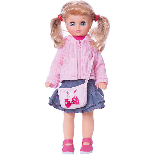 Кукла Лиза 18, со звуком, ВеснаКуклы<br>Какая девочка не любит кукол?! Кукла для девочки - это не только игрушка, с которой можно весело провести время, кукла - это возможность отрабатывать навыки поведения в обществе, учиться заботе о других, делать прически и одеваться согласно моде и поводу.<br>Эта красивая классическая кукла не только эффектно выглядит, она дополнена звуковым модулем! Игрушка модно одета и снабжена аксессуарами. Такая кукла запросто может стать самой любимой игрушкой! Произведена из безопасных для ребенка и качественных материалов.<br><br>Дополнительная информация:<br><br>цвет: разноцветный;<br>материал: пластик, текстиль;<br>комплектация: кукла, одежда, аксессуары;<br>высота: 42 см.<br><br>Куклу Лиза 18, со звуком, от компании Весна можно купить в нашем магазине.<br>Ширина мм: 490; Глубина мм: 210; Высота мм: 130; Вес г: 550; Возраст от месяцев: 36; Возраст до месяцев: 120; Пол: Женский; Возраст: Детский; SKU: 4642029;