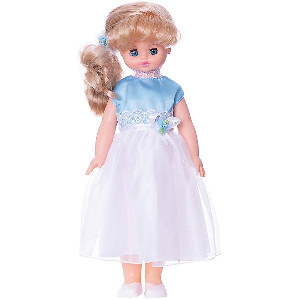 Кукла Алиса 16, со звуком, ВеснаКуклы<br>Игрушки от компании Весна - это простой способ порадовать ребенка! Кукла для девочки - это не только игрушка, с которой можно весело провести время, кукла - это возможность отрабатывать навыки поведения в обществе, учиться заботе о других, делать прически и одеваться согласно моде и поводу.<br>Эта красивая классическая кукла не только эффектно выглядит, она дополнена звуковым модулем! Также она может ходить, если вести ее за руку. Игрушка модно одета и снабжена аксессуарами. Такая кукла запросто может стать самой любимой игрушкой! Произведена из безопасных для ребенка и качественных материалов.<br><br>Дополнительная информация:<br><br>цвет: разноцветный;<br>материал: пластик, текстиль;<br>комплектация: кукла, одежда, аксессуары;<br>звуковой модуль, умеет ходить;<br>высота: 55 см.<br><br>Куклу Алиса 16, со звуком, от компании Весна можно купить в нашем магазине.<br>Ширина мм: 590; Глубина мм: 240; Высота мм: 150; Вес г: 730; Возраст от месяцев: 36; Возраст до месяцев: 120; Пол: Женский; Возраст: Детский; SKU: 4642044;