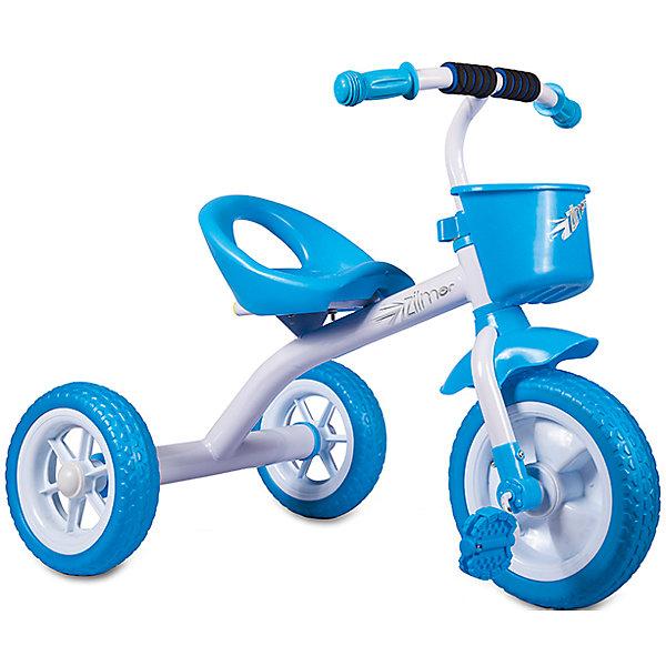 Zilmer Трехколесный велосипед Сильвер Люкс, белый, Zilmer