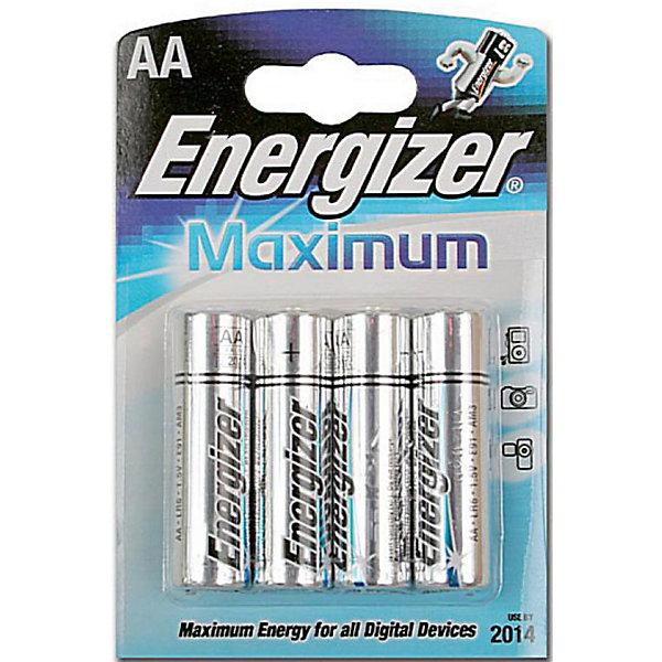 Energizer Батарейка MAX LR6/E91 AA 4 шт