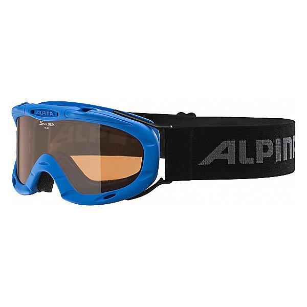 Alpina Горнолыжные очки Alpina RUBY S SH blue SH S1/SH S1 alpina горнолыжные очки alpina carvy 2 0 sh lime slt s2 slt s2
