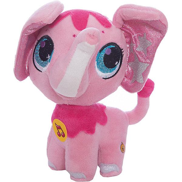 Мягкая игрушка  Слоник, 16 см, со звуком, МУЛЬТИ-ПУЛЬТИМягкие игрушки животные<br>Мягкая игрушка Слоник со звуком от марки МУЛЬТИ-ПУЛЬТИ<br><br>Очаровательная мягкая игрушка от отечественного производителя сделана в виде симпатичного яркого слоника. Она поможет ребенку проводить время весело и с пользой. В игрушке есть встроенный звуковой модуль, работающий на батарейках.<br>Размер игрушки универсален - 16 сантиметров, её удобно брать с собой в поездки и на прогулку. Сделана она из качественных и безопасных для ребенка материалов, которые еще и приятны на ощупь. <br><br>Отличительные особенности  игрушки:<br><br>- материал: текстиль, пластик;<br>- звуковой модуль;<br>- язык: русский;<br>- работает на батарейках;<br>- высота: 16 см.<br><br>Мягкую игрушку Слоник от марки МУЛЬТИ-ПУЛЬТИ можно купить в нашем магазине.<br>Ширина мм: 260; Глубина мм: 340; Высота мм: 320; Вес г: 110; Возраст от месяцев: 36; Возраст до месяцев: 84; Пол: Унисекс; Возраст: Детский; SKU: 4659483;