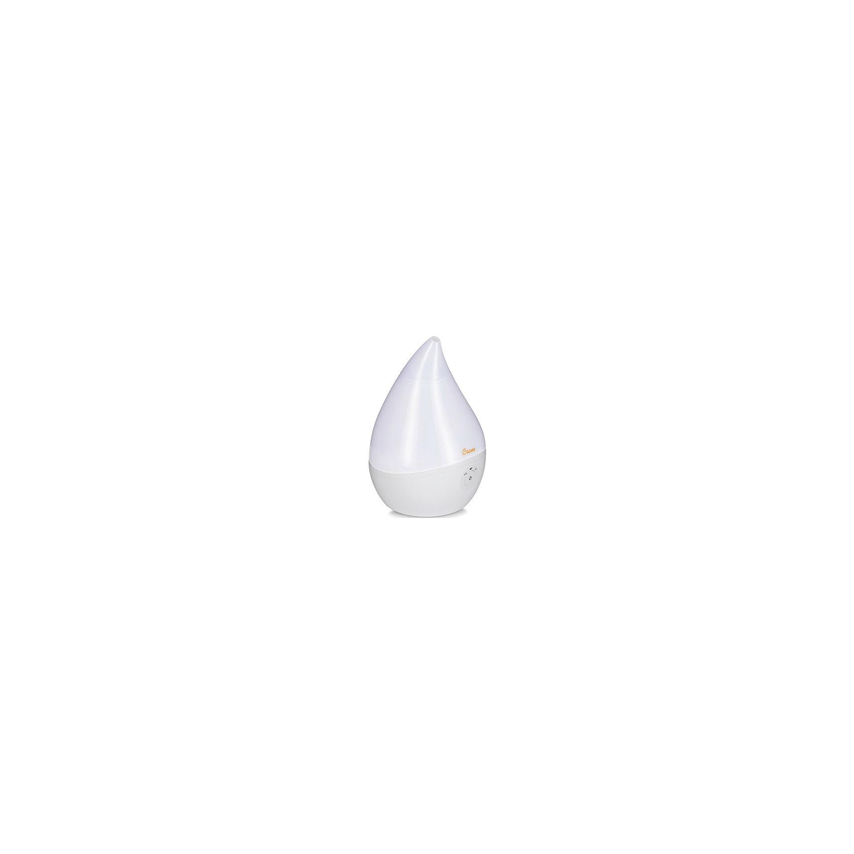 Увлажнитель воздуха ультразвуковой  КАПЕЛЬКА Crane, белый