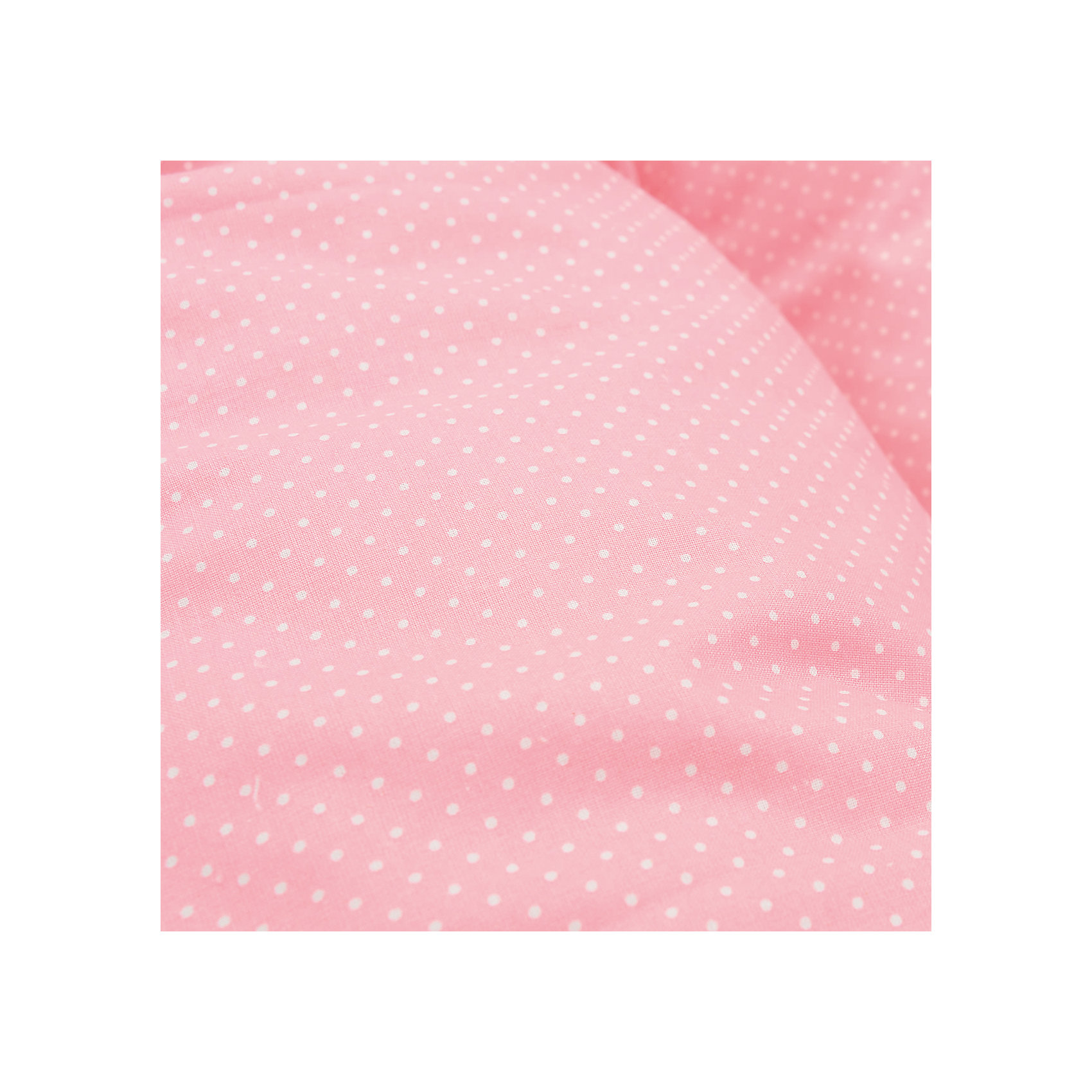 Наволочка для подушки Аура 190х37,  La Armada, розовый в горох