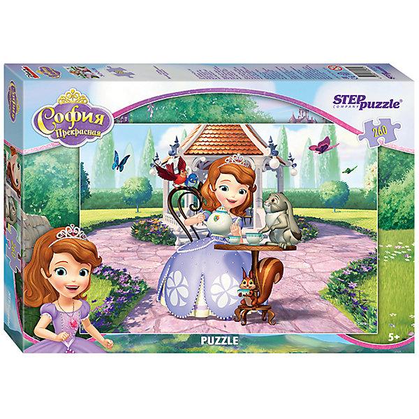 Степ Пазл Пазл Принцесса София, 260 деталей, Step Puzzle пазл step puzzle принцесса софия disney 104 элементов