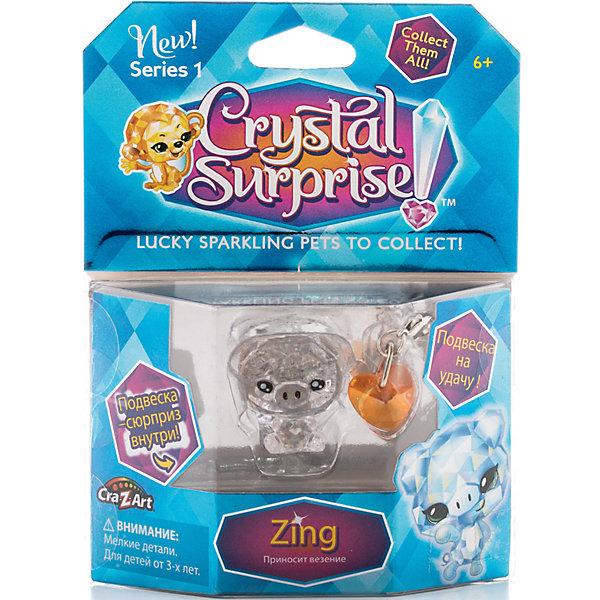 """Фотография товара фигурка Поросенок+подвески"""", Crystal Surprise (4663702)"""