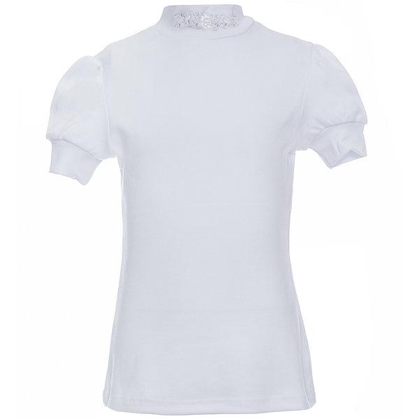 Снег Футболка для девочки Белый снег футболки и топы finn flare kids футболка для девочки kb17 71038