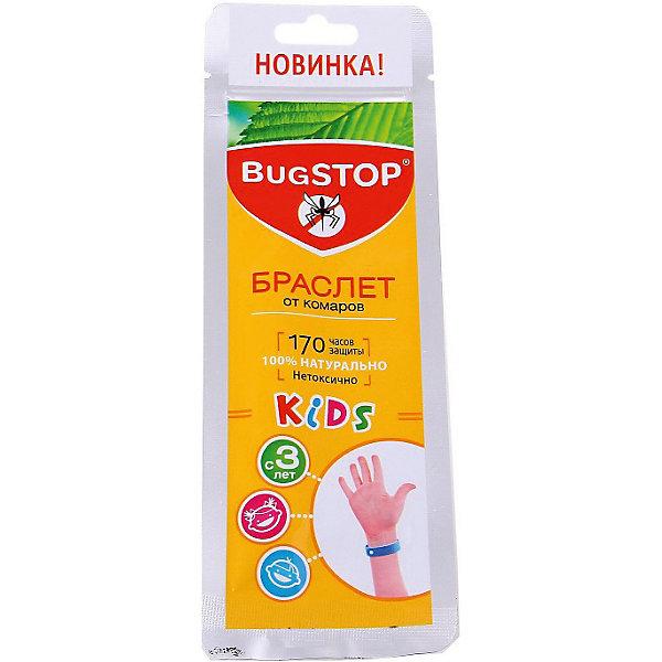 BugSTOP Детский браслет от комаров KIDS,