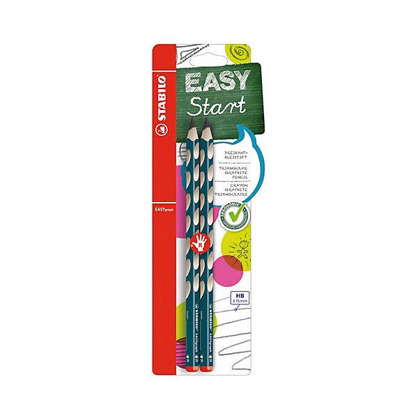 STABILO Чернографитный карандаш для правшей EASY GRAPH