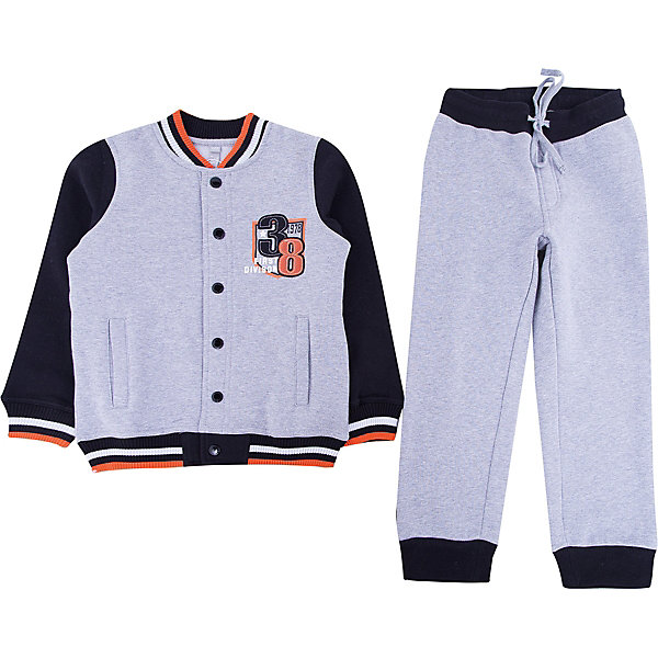 Scool Комплект: толстовка и брюки для мальчика