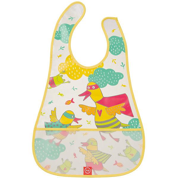 Нагрудник на липучке водонепроницаемый, Happy Baby, желтыйНагрудники и салфетки<br>Каждый малыш, вырастая, учится многим вещам. Приучить его есть и пить самому - непростой процесс, но на помощь родителям придут разработанные профессионалами приспособления - например, нагрудники. Нагрудник на липучке водонепроницаемый от Happy Baby (Хэпи Бэби) позволит малышу легче научиться есть и пить самостоятельно.<br>Он отличается удобной формой, имеет специальный кармашек для улавливания пищи. Материал - прозрачный, мягкий, приятный на ощупь. Надежно защитит одежду малыша от остатков пищи и пятен. Нагрудник легко застегивается благодаря липучке. Украшен он симпатичным рисунком. Сделан нагрудник из высококачественных и безопасных для малышей материалов.<br><br>Дополнительная информация:<br><br>цвет: разноцветный;<br>удобная форма;<br>водонепроницаемый;<br>кармашек для улавливания пищи;<br>застежка - липучка.<br><br>Нагрудник на липучке водонепроницаемый, Happy Baby (Хэпи Бэби), желтый, можно купить в нашем магазине.<br>Ширина мм: 5; Глубина мм: 300; Высота мм: 400; Вес г: 45; Возраст от месяцев: 6; Возраст до месяцев: 36; Пол: Унисекс; Возраст: Детский; SKU: 4695002;
