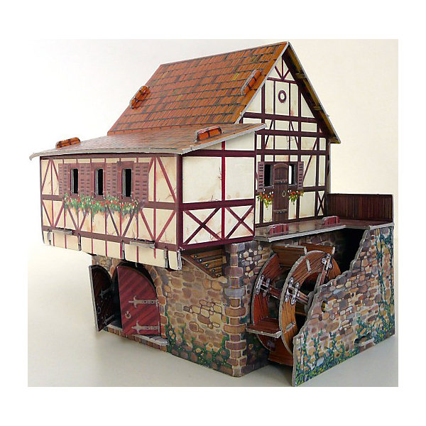Умная Бумага Сборная модель Водяная мельница
