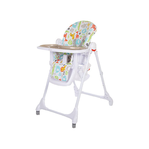 Стульчик для кормления Fiesta, Baby Care, серыйСтульчики для кормления<br>Характеристики детского стульчика для кормления Baby Care Fiesta:<br><br>• регулируемая высота сиденья: 6 уровней;<br>• регулируемый наклон спинки: 3 положения;<br>• регулируемая глубина столешницы: 3 положения;<br>• пластиковая нерегулируемая подножка;<br>• наличие 5-ти точечных ремней безопасности;<br>• пластиковый ограничитель, защита от соскальзывания;<br>• съемная дополнительная столешница, с бортиками и подстаканником, прозрачный пластик;<br>• столик перед ребенком можно снять и убрать;<br>• мягкий чехол, съемный, стирается при температуре 30 градусов;<br>• на задней панели находится сумка-сетка для игрушек;<br>• рама стульчика оснащена колесиками, на передней оси, и стопорами, на задней оси;<br>• компактно складывается, устойчиво стоит в сложенном виде;<br>• материал: алюминий, пластик, полиэстер. <br><br>Пластиковый стульчик Fiesta Baby Care используется от полугода до 6 лет, в зависимости от возраста и роста малыша регулируется высота стульчика, угол наклона спинки, глубина столешницы, наличие/отсутствие столика перед ребенком. Стульчик компактно складывается, не занимает много места в сложенном виде. <br><br>Размеры стульчика Fiesta:<br><br>Размер стульчика в разложенном состоянии: 61х85х100 см<br>Размер стульчика в сложенном состоянии: 61х36х119 см<br>Ширина сиденья: 29,5 см<br>Вес стульчика: 8,2 кг<br>Размер упаковки: 60х32х55 см;<br>Вес в упаковке: 10,5 кг<br><br>Стульчик для кормления Fiesta, Baby Care, серый можно купить в нашем интернет-магазине.
