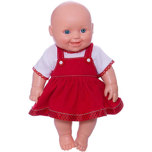 Кукла Малышка 7, девочка, 31 см, ВеснаКуклы<br>Симпатичная и качественная кукла от отечественного производителя способна не просто помочь ребенку весело проводить время, но и научить девочку заботиться о других. На игрушке - симпатичная одежда, всё можно снимать и надевать. У игрушки двигаются руки и ноги, голова поворачивается.<br>Такая кукла помогает ребенку нарабатывать социальные навыки и весело познавать мир. Сделана игрушка из качественных, приятных на ощупь и безопасных для ребенка материалов.<br><br>Отличительные особенности куклы:<br><br>- материал: пластмасса;<br>- волосы: рельефная имитация;<br>- двигаются руки и ноги;<br>- голова поворачивается;<br>- снимающаяся одежда;<br>- высота: 31 см.<br><br>Куклу Малышка 7 от марки Весна можно купить в нашем магазине.<br>Ширина мм: 335; Глубина мм: 350; Высота мм: 205; Вес г: 460; Возраст от месяцев: 36; Возраст до месяцев: 1188; Пол: Женский; Возраст: Детский; SKU: 4701846;
