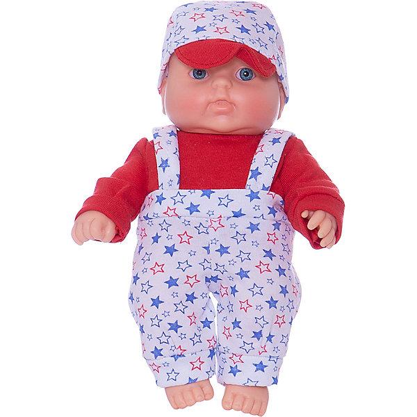 Кукла Карапуз 8, мальчик, 20 см, ВеснаКуклы-пупсы<br>Симпатичная и качественная кукла от отечественного производителя способна не просто помочь ребенку весело проводить время, но и научить девочку заботиться о других. На игрушке - симпатичная одежда и шапочка, всё можно снимать и надевать. Также прилагается красивый конверт-одеяло.<br>Такая кукла помогает ребенку нарабатывать социальные навыки и весело познавать мир. Сделана игрушка из качественных, приятных на ощупь и безопасных для ребенка материалов.<br><br>Отличительные особенности куклы:<br><br>- материал: пластмасса;<br>- волосы: рельефная имитация;<br>- можно купать;<br>- снимающаяся одежда;<br>- высота: 20 см.<br><br>Куклу Карапуз 8 от марки Весна можно купить в нашем магазине.<br>Ширина мм: 335; Глубина мм: 350; Высота мм: 205; Вес г: 200; Возраст от месяцев: 36; Возраст до месяцев: 1188; Пол: Женский; Возраст: Детский; SKU: 4701847;