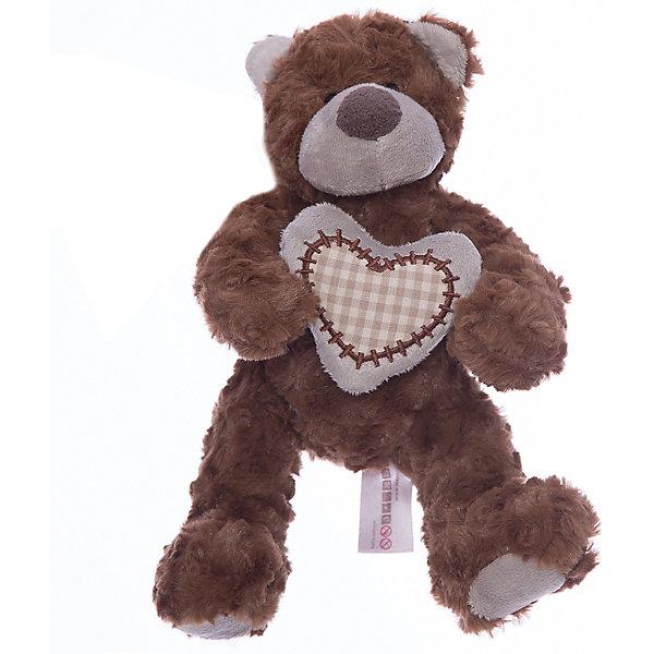Фотография товара мишка Лавли, коричневый, 19 см, MAXITOYS (4701899)