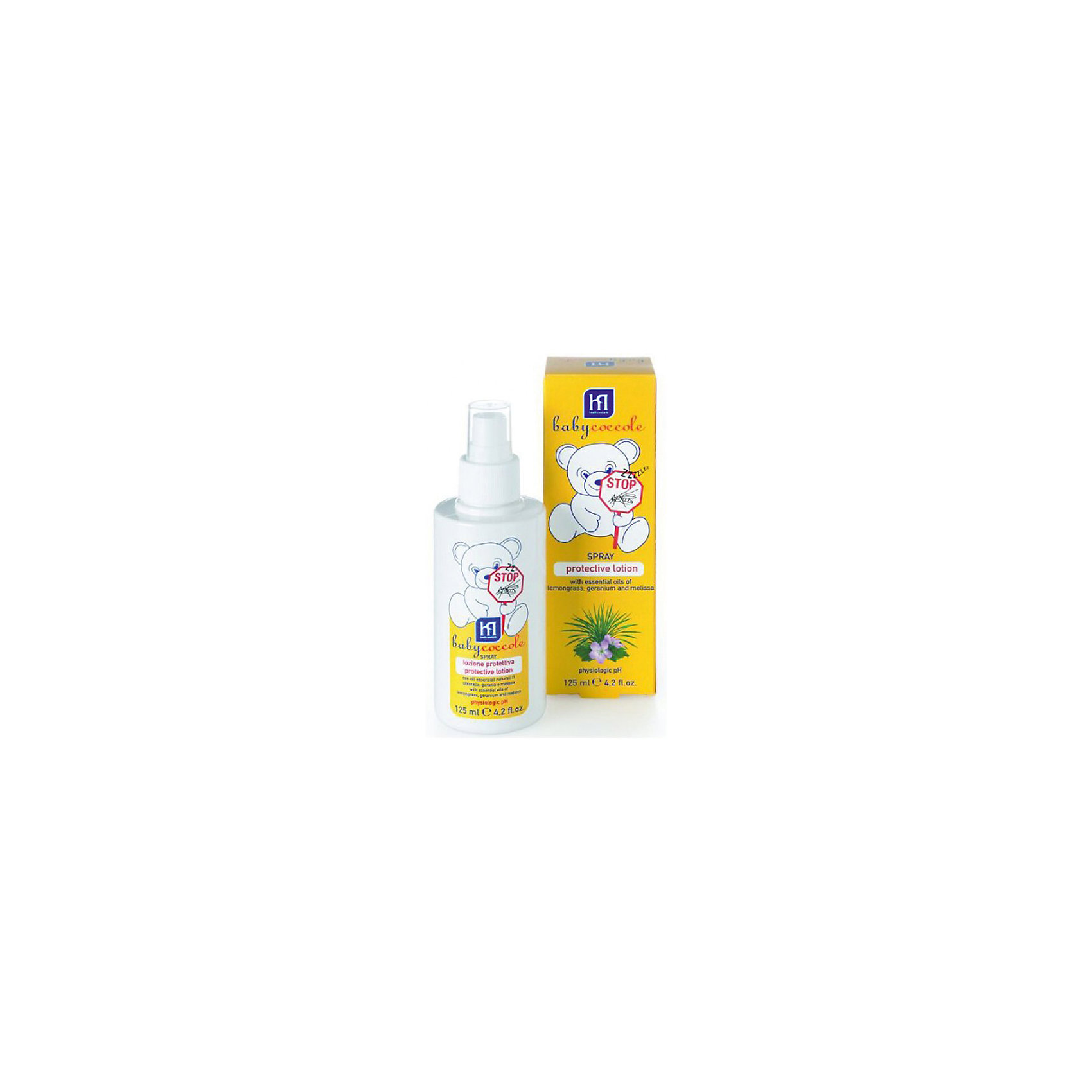 Защитный лосьон от комаров  125мл, Babycoccole