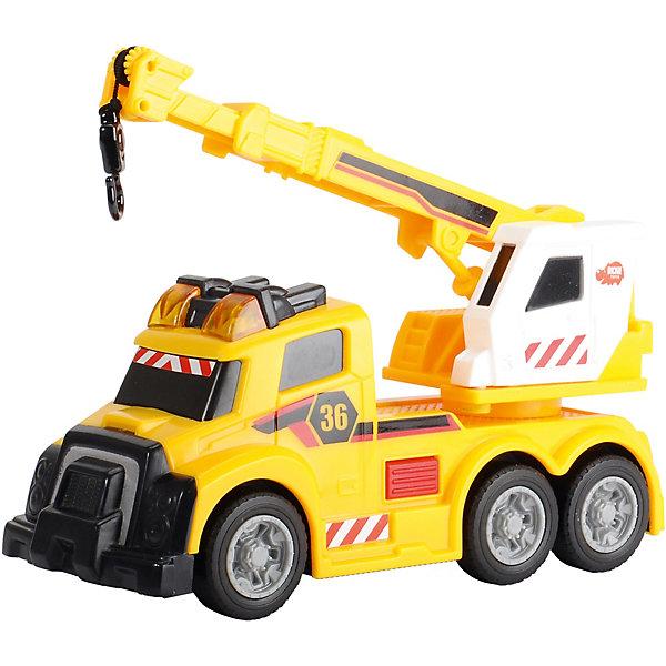 Dickie Toys Машина с краном со светом и звуком