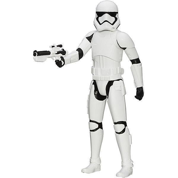 Титаны: Штурмовик, Герои вселенной, Звездные ВойныКоллекционные и игровые фигурки<br>Фигурка Штурмовика от Hasbro, станет приятным сюрпризом для вашего ребенка, особенно если он является поклонником популярной фантастической киносаги Star Wars. Фигурка выполнена из высококачественного пластика, прекрасно детализирована и реалистично раскрашена. Теперь можно разыгрывать по-настоящему масштабные сражения с любимыми персонажами. У фигурки подвижные части тела с 5 точками артикуляции, что позволяет придать ей любую позу. <br><br>Дополнительная информация:  <br><br>- В комплекте: 1 фигурка, 1 оружие.<br>- Материал: пластик. <br>- Высота фигурки: 30 см. <br>- Размер упаковки: 30,5 х 5 х 10 см.   <br>- Голова, руки, ноги подвижные.<br><br>Фигурку Титаны: Штурмовика, Герои вселенной, Звездные Войны (Star Wars), можно купить в нашем интернет-магазине.<br>Ширина мм: 309; Глубина мм: 102; Высота мм: 57; Вес г: 328; Возраст от месяцев: 48; Возраст до месяцев: 96; Пол: Мужской; Возраст: Детский; SKU: 4702910;