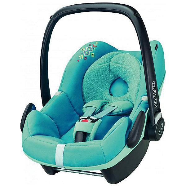 Автокресло Maxi-Cosi Pebble 0-13 кг, Mosaic BlueГруппа 0+  (до 13 кг)<br>Надежное высокотехнологичное автокресло-переноска позволит перевозить ребенка, не беспокоясь при этом о его безопасности. Оно предназначено для предназначено для детей весом  до 13 килограмм. Такое кресло обеспечит малышу не только безопасность, но и удобство (регулируемая длина внутренних ремней и анатомическая подушка). Ребенок надежно фиксируется в кресле и ездит с комфортом.<br>Автокресло устанавливают против движения. Такое кресло дает возможность свободно путешествовать, ездить в гости и при этом  быть рядом с малышом. Конструкция - очень удобная и прочная. Изделие произведено из качественных и безопасных для малышей материалов, оно соответствуют всем современным требованиям безопасности. Оно отлично показало себя на краш-тестах.<br> <br>Дополнительная информация:<br><br>цвет: голубой;<br>материал: текстиль, пластик;<br>вес ребенка:  от 0 до 13 кг;<br>вес кресла: 4 кг;<br>использование в качестве качалки;<br>анатомическая подушка;<br>внутренние ремни - трехточечные, с мягкими накладками;<br>регулировка высоты внутренних ремней;<br>дополнительная защита от боковых ударов;<br>регулировка глубины кресла в соответствии с весом ребенка;<br>ручка для переноски;<br>тент от солнца.<br><br>Автокресло Pebble 0-13 кг., Mosaic Blue от компании Maxi-Cosi можно купить в нашем магазине.<br>Ширина мм: 445; Глубина мм: 375; Высота мм: 725; Вес г: 4000; Возраст от месяцев: 0; Возраст до месяцев: 12; Пол: Унисекс; Возраст: Детский; SKU: 4709560;